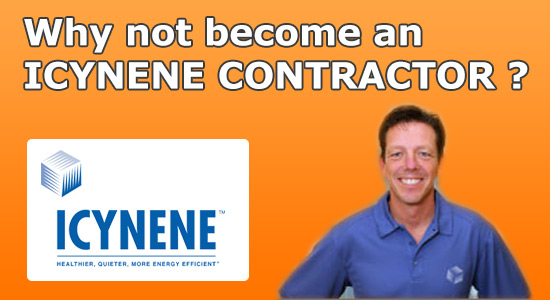 become an icynene insulation contractor