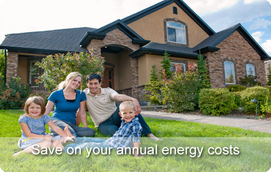 save on your annual energy costs with Icynene cavity wall insulation